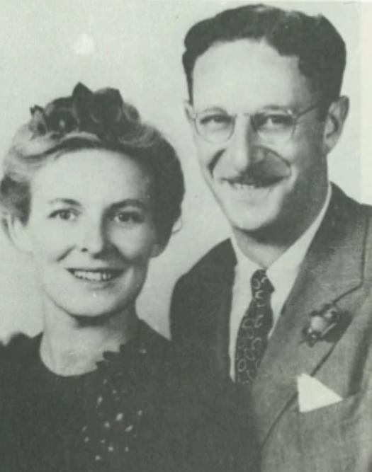 Ерік Берн з дружиною