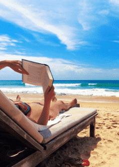 Найкращі книги для відпустки